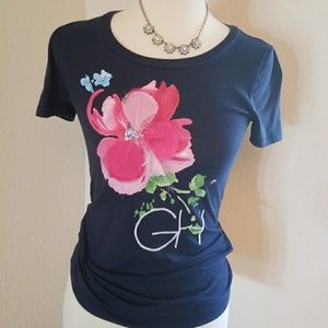 GILLY HICKS FLORAL T-SHIRT